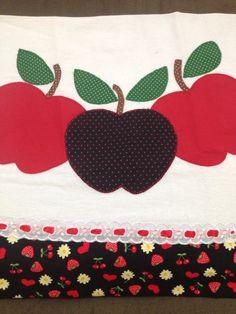 patch aplique maçã