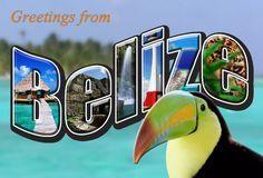 belize postcard - Google Search