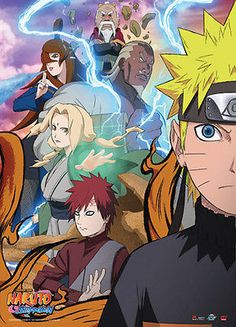 Naruto Shippuden: Naruto Allies Wallscroll Anime GE Gaara