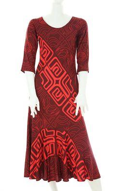 Pu'uwai Island Wear, Island Outfit, Samoan Designs, Samoan Dress, Different Dress Styles, Hawaiian Fashion, Hawaii Outfits, Muumuu, Special Dresses