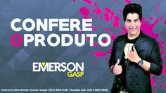Emerson Gasp é convidado do programa Record News Rural. Nesta sexta-feira (14), o cantor Emerson Gasp vai mostrar o seu trabalho durante o programa...