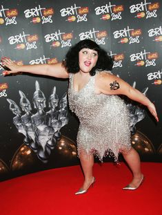 18 Fashion Rules From Beth Ditto -- I want the silver beaded dress. It's so me!