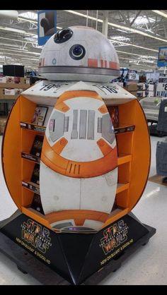 3D Design - Star Wars Temporary POS Design - Cardboard Design - Instore Theatre