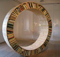 Schön Rundes Bücherregal