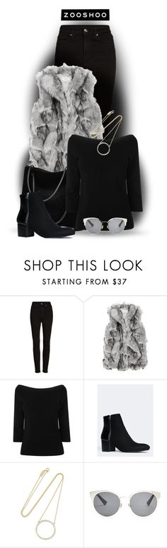 """""""Zooshoo"""" by cassandra-cafone-wright ❤ liked on Polyvore featuring Good American, L.K.Bennett, Jennifer Meyer Jewelry, Christian Dior and zooshoo"""
