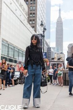 Australian photographer Ruby Wang heads to New York for NYFW Spring 2017 to snap up the style on the streets for CLIQUE Mag.