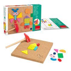 Jeu des clous - Ce jeu d'inspiration Montessori développe l'organisation dans l'espace - 22,95 €