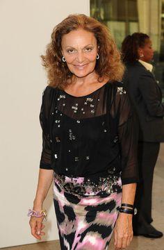 Diane von Furstenberg Photo - Fashion's Night Out: The Show - Arrivals