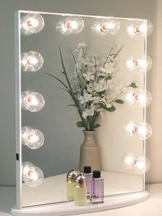 Hollywood Glow XL Vanity Mirror By Impressions Vanity Lar... http://www.amazon.com/dp/B00ZE80EMW/ref=cm_sw_r_pi_dp_ae0kxb1ZQ9RWW