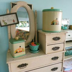 The sweetest child's doll dresser