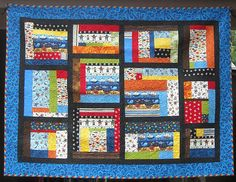 Pirate Quilt designed and created by Bear Creek Quilting Company