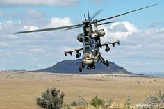 Denel AH-2 Rooivalk Attack Helicopter