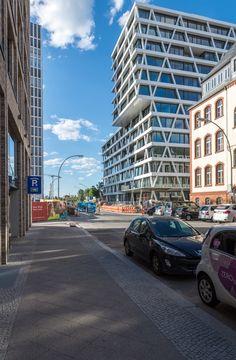 Berlin Im August 2016 Absolut gelungen!Die neue 50Hertz Zentrale in der Europa-City