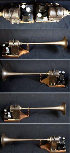 """Early Jensen horn speakers  """"Sweet"""""""