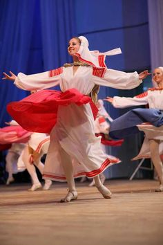 "Folk clothing and folk dancing of Belarus. Bulba is a concert dance based on Belarusian folk traditions, choreographed, among several others, by Igor Moiseyev. The word means ""potato"" in Ukrainian and Belarusian languages. Moiseyev created the dance after visiting Belarus in late 1930's. He masterfully recreated the Belarusian folklore, so that the dance has become the Belarusian national dance, featured by all national folk dance ensembles."