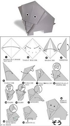 简单易学的日系卡通动物折纸,Origami Crafts for Kids, Free Printable Origami Patterns, Tutorial, crafts, paper crafts, printable kids activities, origami animal patterns, cute panda origami paper crafts, heart origami tutorial