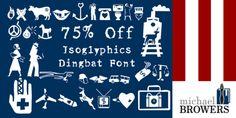 Isoglyphics (75% discount, 5,25€)