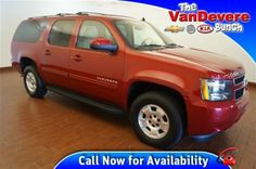 2013 Chevrolet Suburban 4WD 1500 LT at The VanDevere Bunch in Akron Ohio.