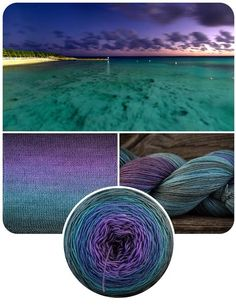 Grand Turk, The Blue Brick Ombré series gradient yarn, different yarn bases available