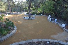 Decomposed granite lawn