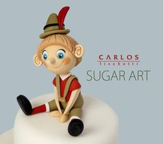 Carlos Lischetti.. porcelana fria polymer clay pasta francesa masa flexible fimo modelling modelado figurine cake topper