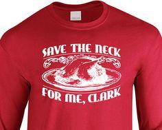 New Save The Neck for Me Clark Long Sleeved T-shirt by JonnyTeez