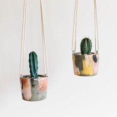 Colgante plantador concreto / jardinera / maceta planta / colgar la planta en ma.... *** Take a look at even more at the photo link