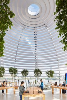 Foster + Partners unwraps spherical Apple Marina Bay Sands store Marina Bay Sands, Bangkok, Video Wall, Sands Singapore, Dome Structure, Sands Hotel, Foster Partners, Centre Commercial, Stunning View