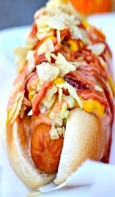 Columbian Hot Dogs