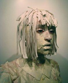 """Under Cover"" self portrait by Sigrid Nathorst"