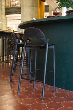 Positano Yes – Monica Förster Design Studio Positano Restaurant, Nordic Design, Restaurant Design, Warm Colors, Stockholm, Bar Stools, Studio, Furniture, Home Decor