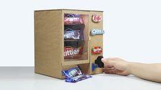 How to Make KitKat Skittles OREO Vending Machine - YouTube