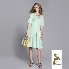 Maria Westerlind dress Una, green-metallic, ss15, www.mariawesterlind.com Ss 15, Spring Summer 2015, Cold Shoulder Dress, Metallic, Collection, Green, Dresses, Fashion, Gowns