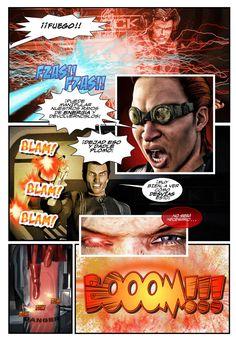 "Página de muestra del #comic #2d3dart ""RABIA (1)"", obra de Antonio María y Gregorio Mata en ComicSquare #comics - Ver obra completa en http://www.comicsquare.com/es/comic/rabia-1"