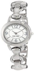 #Nine West Nw1105wtsb Silver Tone Bracelet  watch #2dayslook #new #watch #nice  www.2dayslook.com