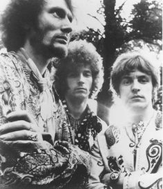Cream; Ginger Baker on drums, Eric Clapton on lead guitar and Jack Bruce on bass.