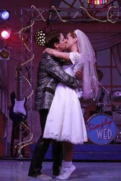 """For the 80's Loving Bride to Be, there's lot's of inspiration to be found in the Broadway Musical """"The Wedding Singer""""."""