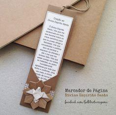 Falk Brito Origami: Marcador de Página Divino Espírito Santo...