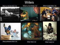 Writing Meme - Writers Write Creative Blog