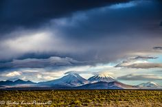 Vulcões Parinacota e Pomerape, Tripartito, Chile