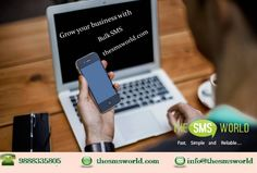 Grow your sales and boost up your business to next level by using our bulk sms service. #thesmsworld #bulksms #apisms #smsgateway #otpsms #bulksmsservice