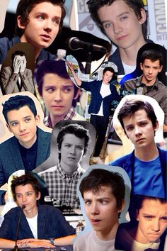 This is like the best collage of him.... ever.