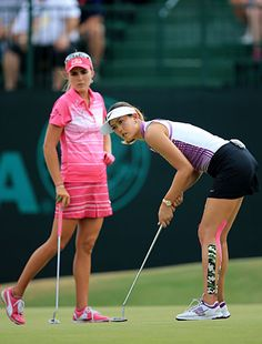 lexi thompson, michelle wie