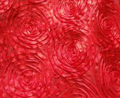 Dramatic rose linen