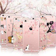 Kawaii Cartoon Silica Gel Phone Case SP165060