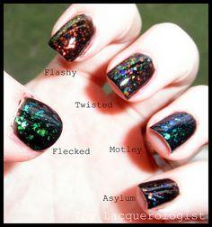 Finger Paints Flakies nail polish