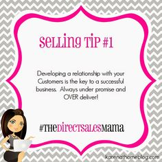 The Direct Sales Mama: Direct Sales Selling Tip #1