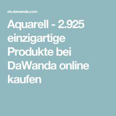 Aquarell - 2.925 einzigartige Produkte bei DaWanda online kaufen