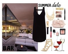 """Summer date"" by meeshtell on Polyvore featuring Miss Selfridge, Forever 21, Boohoo, Sergio Rossi, Liz Claiborne, Chanel, Yves Saint Laurent, Trish McEvoy, NARS Cosmetics and Bobbi Brown Cosmetics"