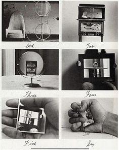Duane Michals - 1974: Alice's Mirror